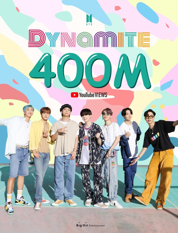 Dynamite surpasses 400 mln views on YouTube