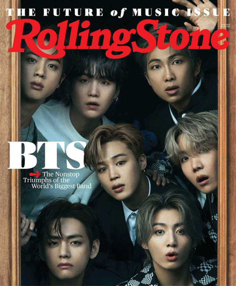 BTS becomes the first all-Asian act to front Rolling Stone