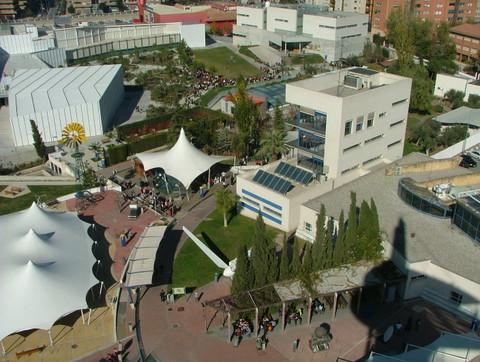 Vista del parque desde la torre