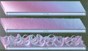 A nivel de longitud de Planck, el universo no es plano, es sumamente complejo y las direcciones arriba, abajo, izquierda y derecha dejan de tener sentido.