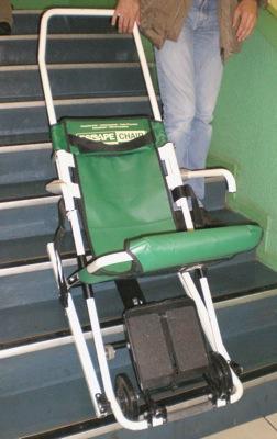 Chaise Dvacuation Escape Fabrique Par Escape Mobility