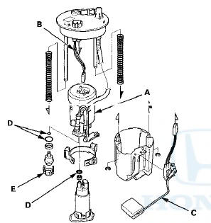 Speedway Motor: Honda Accord Fuel Filter Replacement