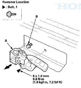 Honda Accord: Trunk Lid Opener/Fuel Fill Door Opener