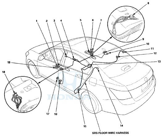 Honda Wire Harness Connectors