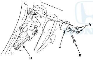 Honda Accord: Driver's Under-dash Fuse/Relay Box (MICU