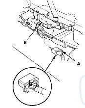 Honda Accord: Power Window Master Switch Replacement