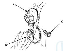 Honda Accord: Side Impact Sensor (Second) Replacement