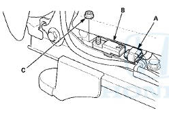 Honda Accord: Driver's Seat Position Sensor Replacement