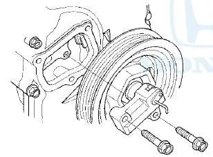 Honda Accord: Cam Chain Auto-tensioner Removal and