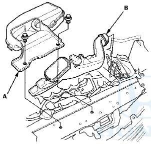 Honda Accord: Intake Manifold Removal and Installation