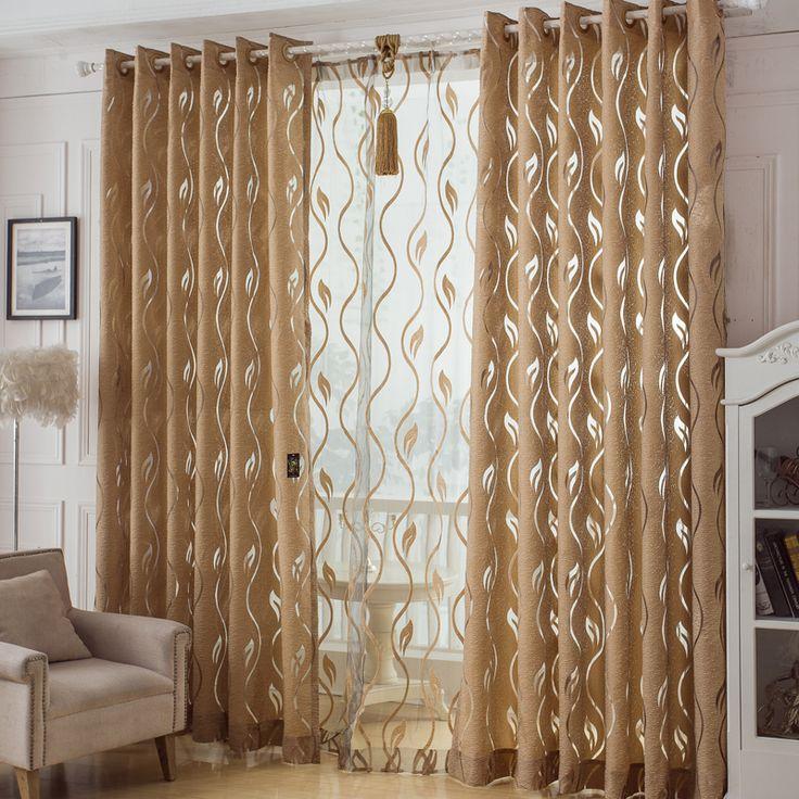 Como hacer cortinas modernas para sala con ojillos
