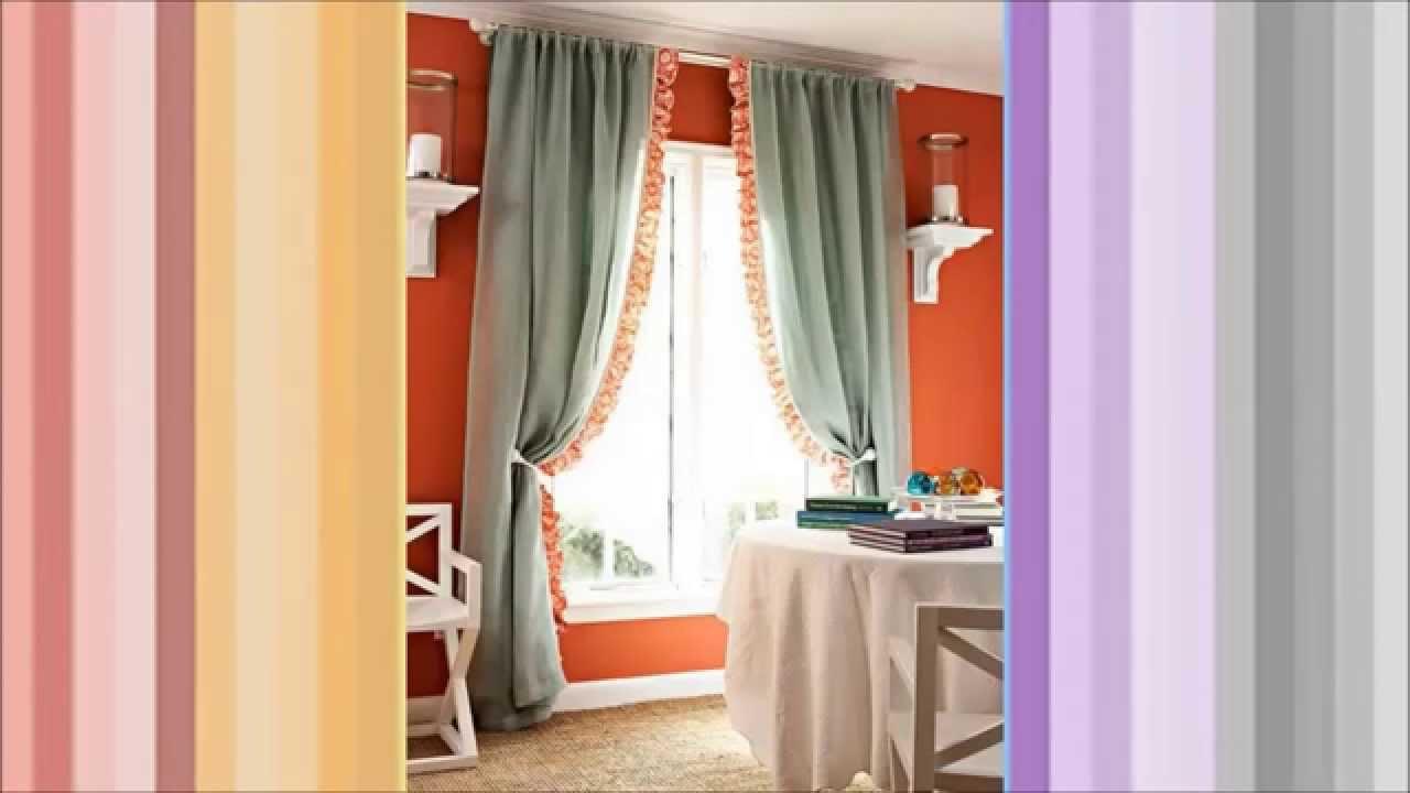 Como hacer cortinas a mano con diferentes puntos