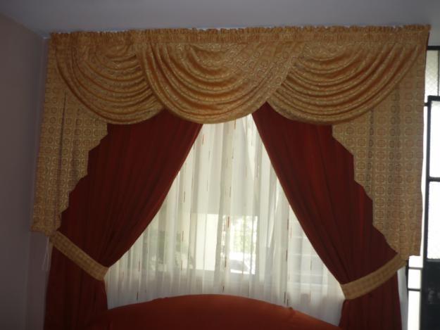 Como hacer cortinas con ondas en la parte de la cenefa