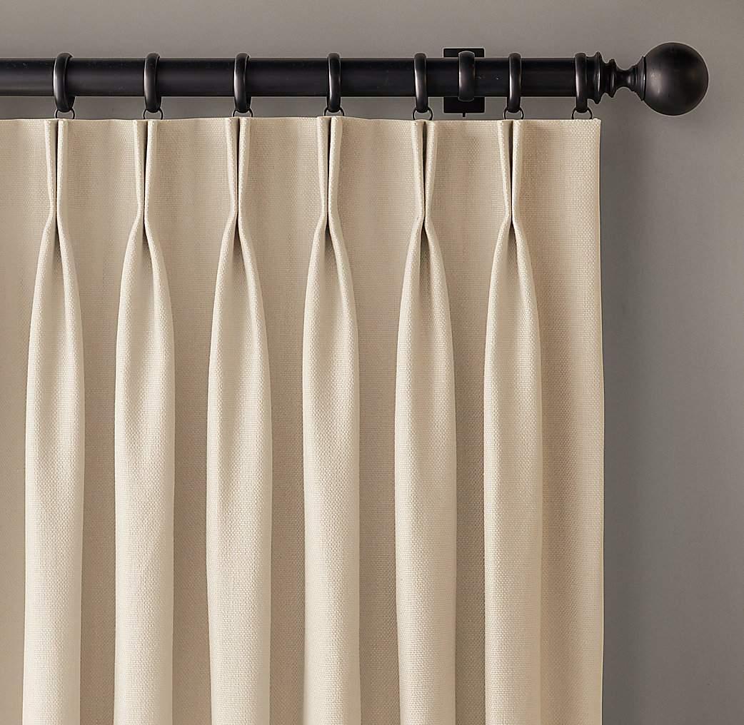 Como hacer cortinas con pliegues al estilo francs
