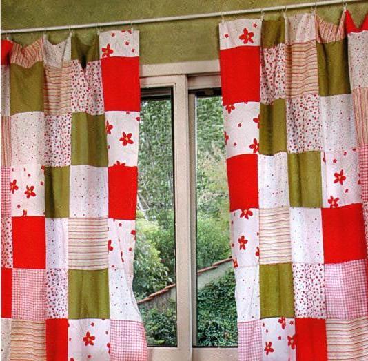 como hacer cortinas con retazos de tela economico y practico
