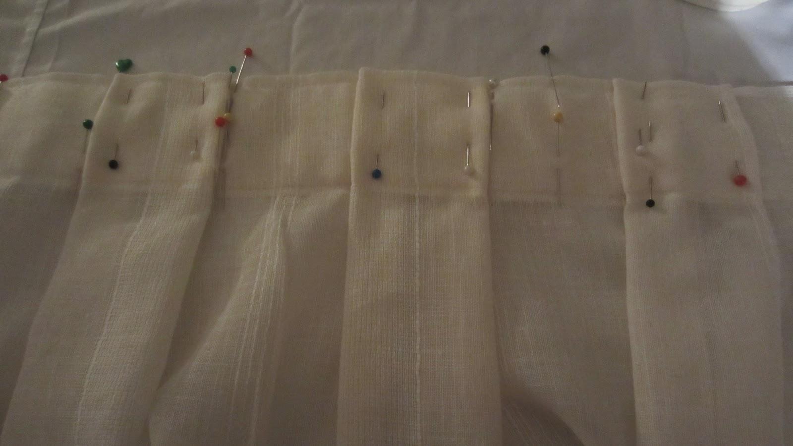 como hacer cortinas de visillos con procedimientos sencillos