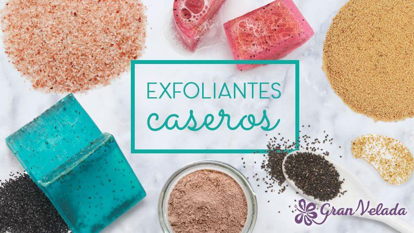 Exfoliantes artesanales