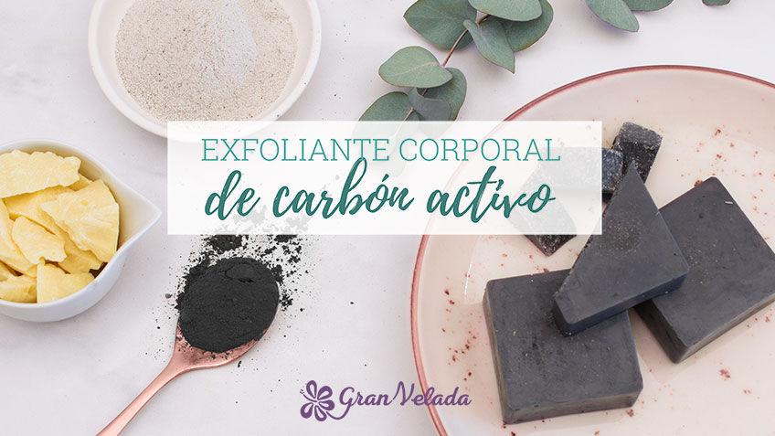 Exfoliante corporal de carbon