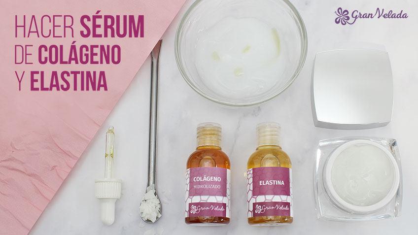 Serum de colageno y elastina