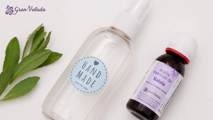 Desodorante natural casero