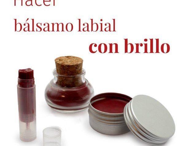 Cómo hacer un bálsamo labial de frambuesa con brillo
