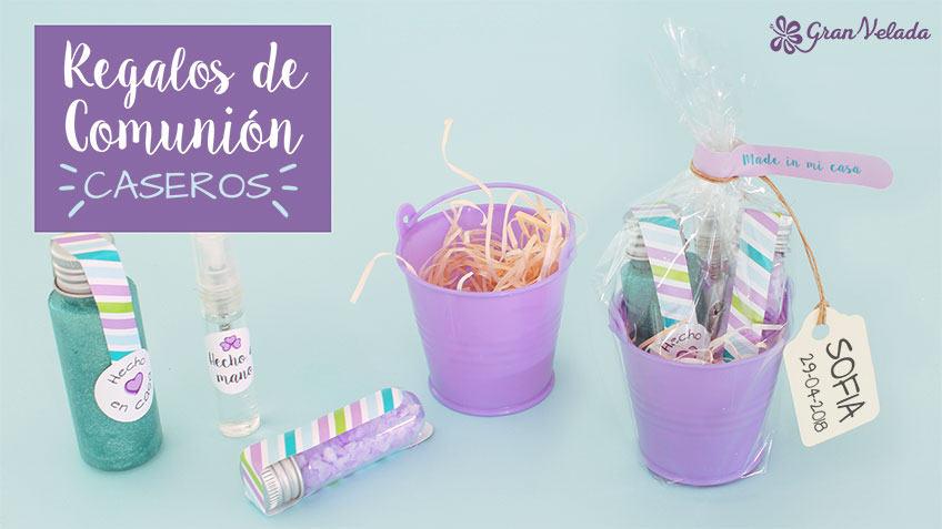 Prepara regalos de comunion caseros con productos cosméticos