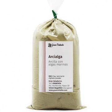 Arcialga, arcilla de algas