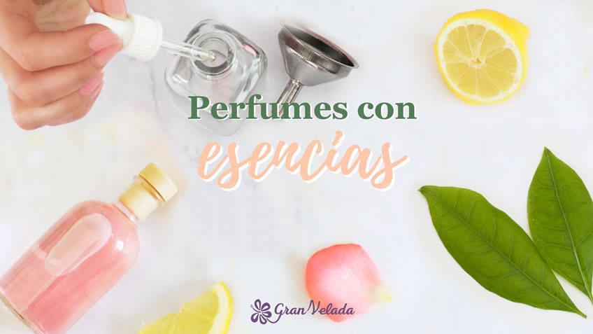 Perfumes con esencias
