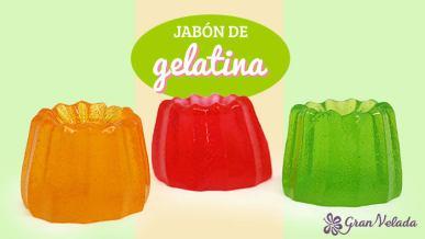 Hacer jabon de gelatina casero