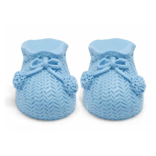 Patucos de bebe hechos en casa con jabon