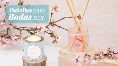 Escoge entre los diferentes Detalles para boda DIY y hazlos en casa con estos tutoriales y vídeos