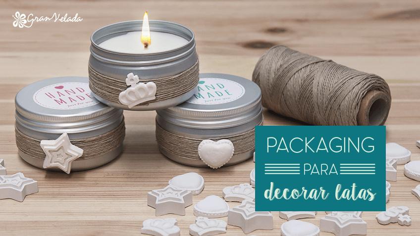 packaging para decorar latas
