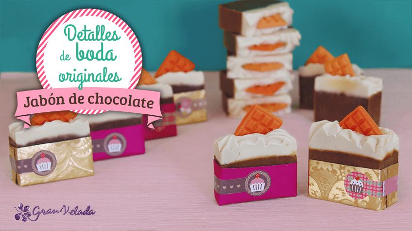 Aprende a hacer y envolver tu propio jabon de chocolate en - Para hacer jabon en casa ...