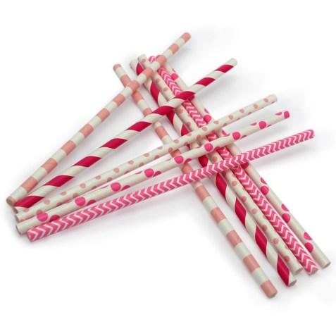 Pajitas decorativas para candy bar
