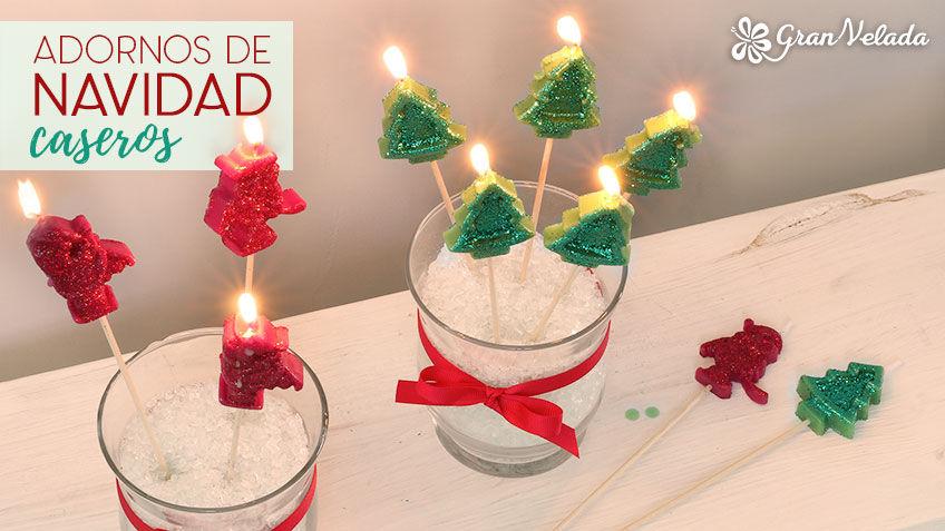 De Navidad Con Pias. Interesting Finest Cheap Best Tres Velas De ...