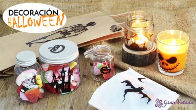 Tutorial con 3 ideas de decoracion Halloween caseras.