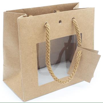 Bolsa para regalos con ventana