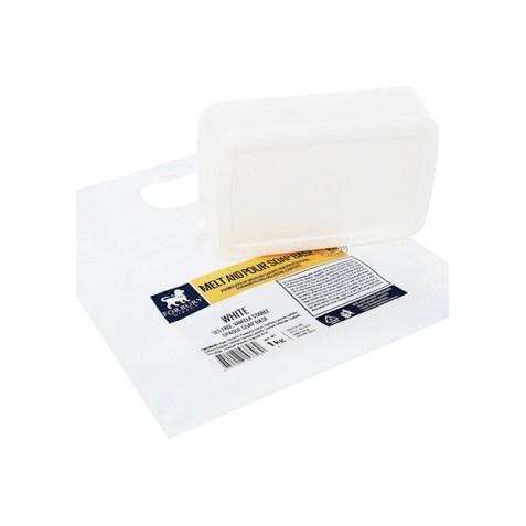 Jabón base de glicerina blanco