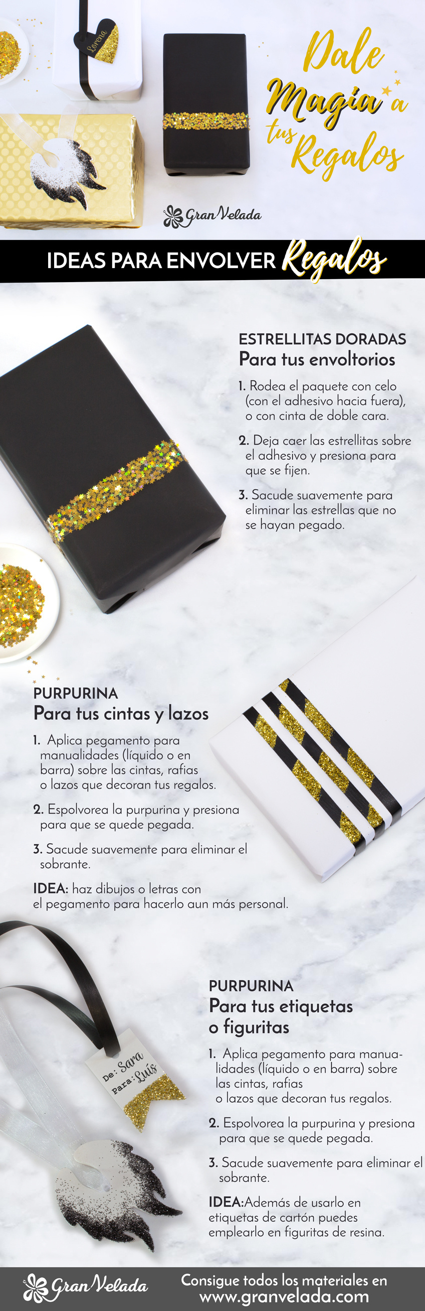Ideas para envolver regalos originales