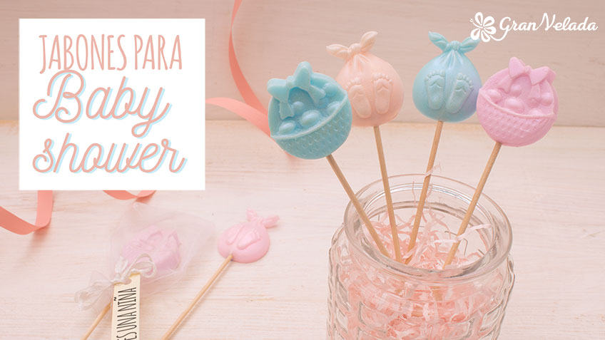 Ideas de jabones para baby shower