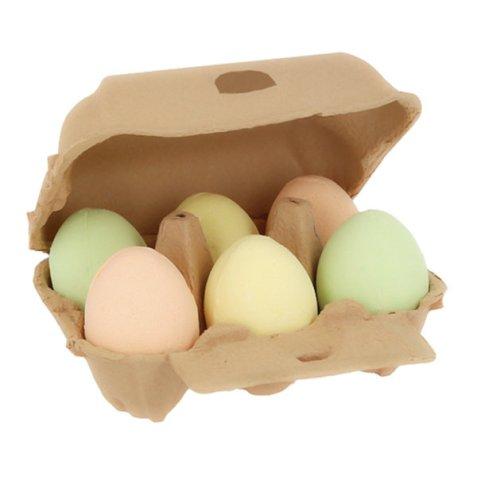 Bombas de baño de huevo