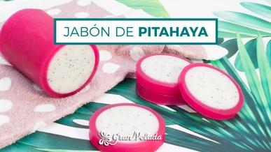 Tutorial para aprender hacer Jabon de pitahaya de glicerina con vídeo y paso a paso