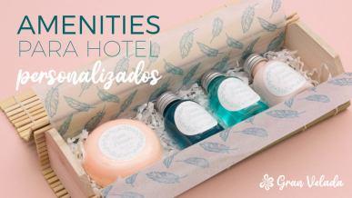 Amenities para hotel personalizados