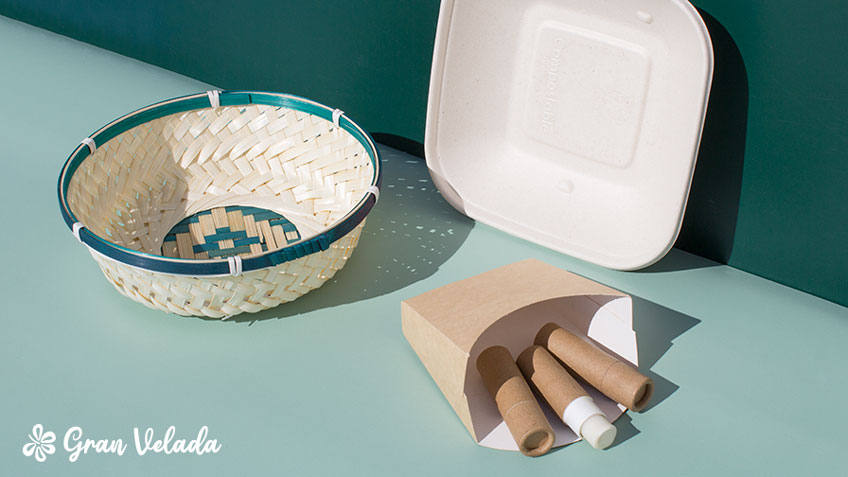 Materiales para packaging sostenible