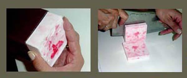 Como hacer jabon difuminado