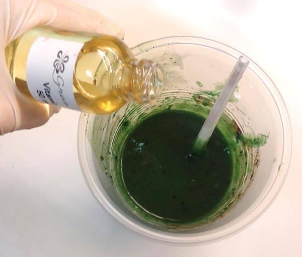 Hacer jabón de Algas.