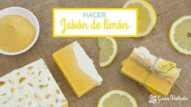 Tutorial para hacer jabon de limon casero con vídeo y paso a paso