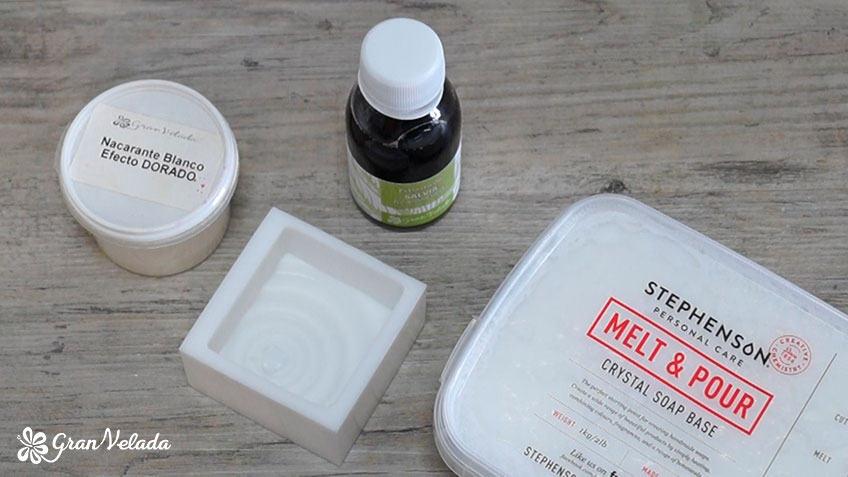 Ingredientes para hacer jabon de salvia