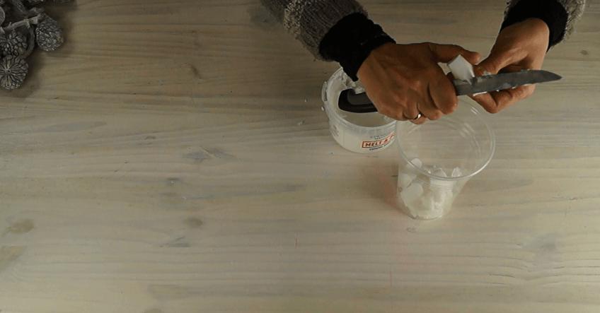 Manualidades navideñas para niños: Belén de jabón