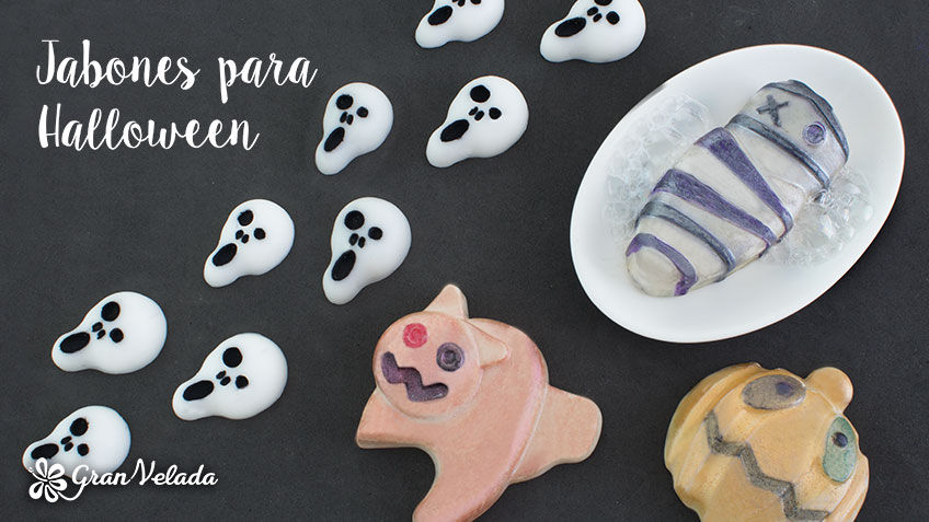 Jabones para Halloween: ideas originales